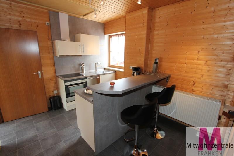 Küche mit Bartheke